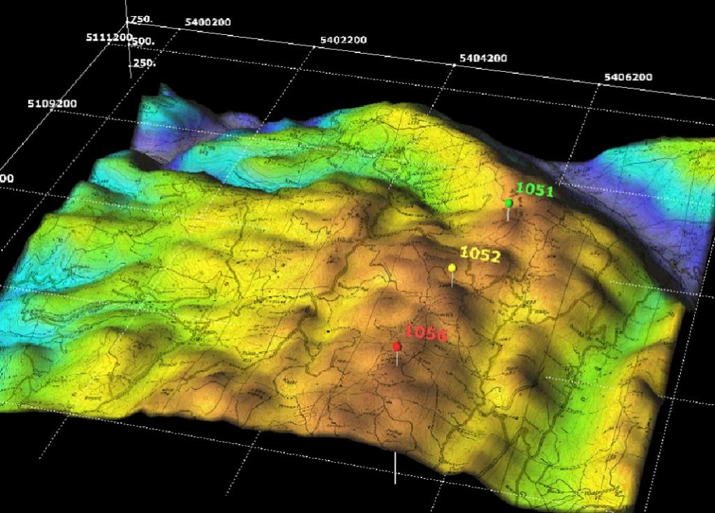 Contoh Penginderaan Jauh di Bidang Geologi