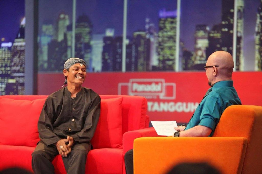 Sang Pendekar Mangrove dari Brebes dalam Sebuah Acara TV Nasional