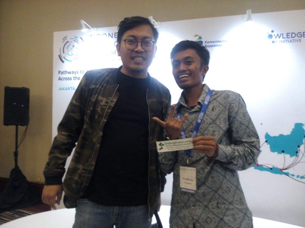 CEO LindungiHutan Dalam Sesi Diskusi Bersama Founder BukaLapak, Achmad Zaky