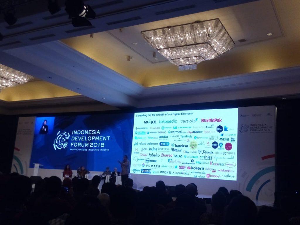 Sesi Indonesia Development Forum (IDF) 2018