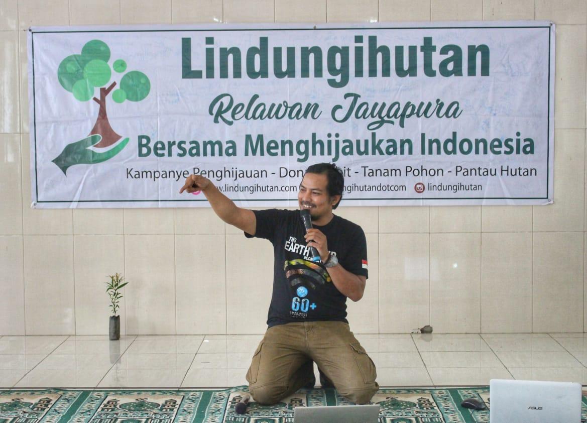 Relawan LindungiHutan Jayapura