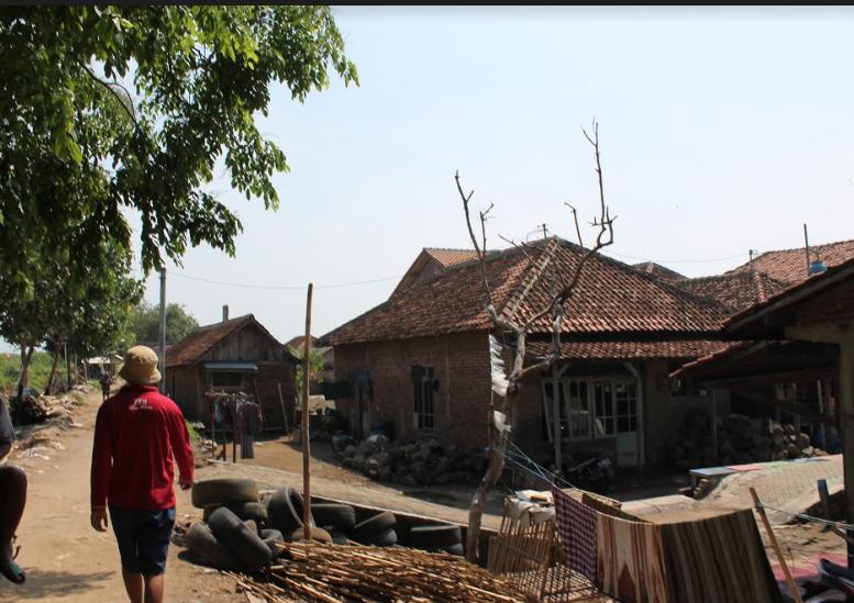 Pemukiman di Pesisir yang Terdampak Abrasi