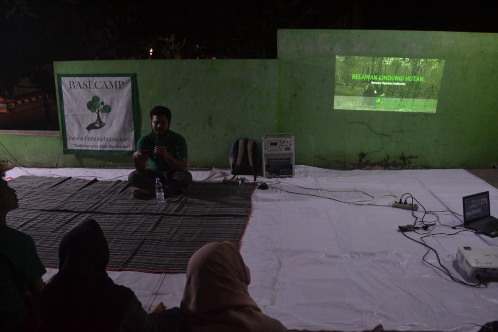 LindungiHutan Mengadakan Gathering mengenai Lingkungan di Basecamp