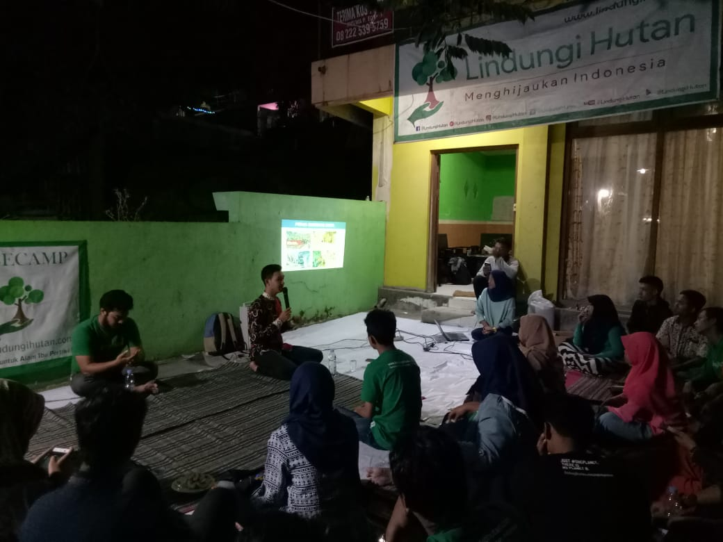 Yudi Aprianto, Duta Lingkungan Hidup Semarang dalam Gathering Semalam