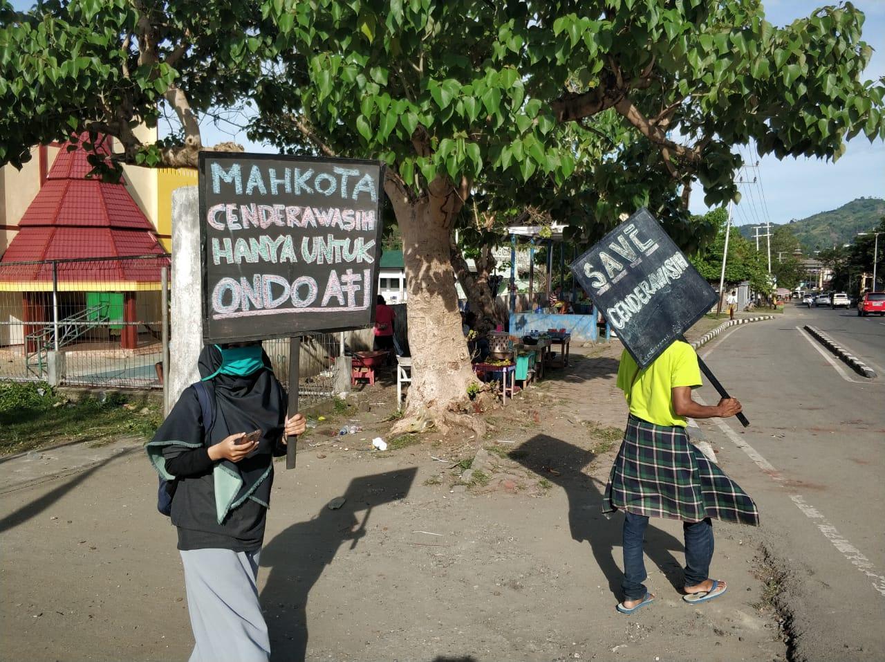 Relawan LindungiHutan Jayapura Kampanyekan Penyelamatan Cendrawasih
