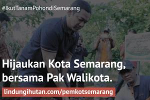 Pemkot Semarang Galakkan Penghijauan