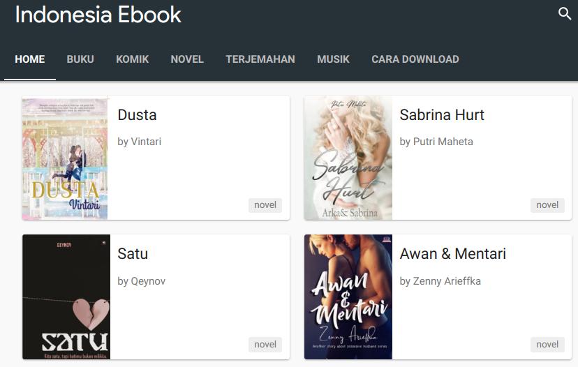 Download Ebook Gratis di situs Indonesia Ebook