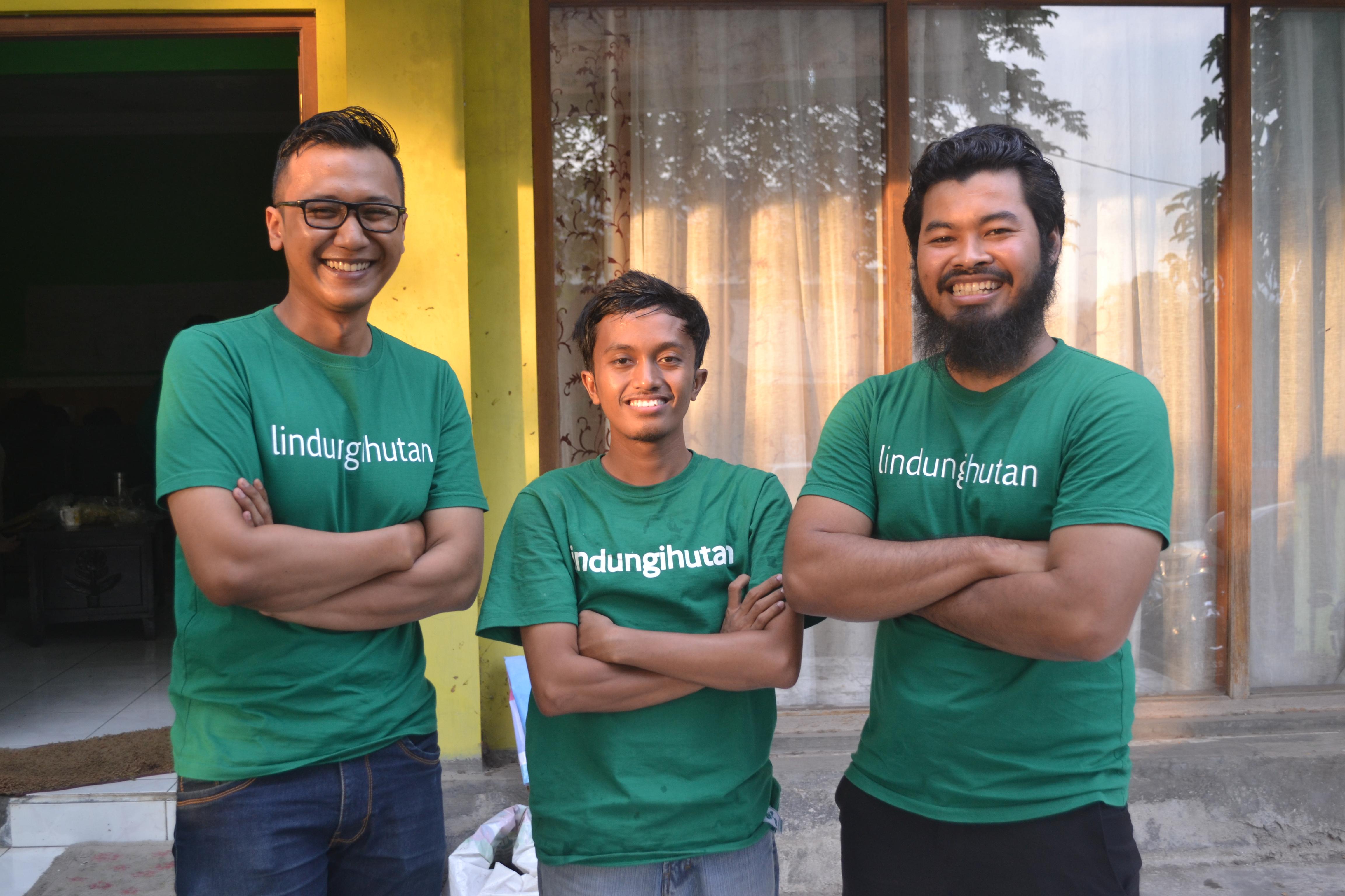 Foto Bersama Chasif Syadzali, Hario Laskito Ardi , dan Miftachurrobani